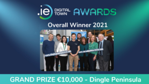 Read more about the article Dingle Peninsula is winner of .IE Digital Town Awards 2021